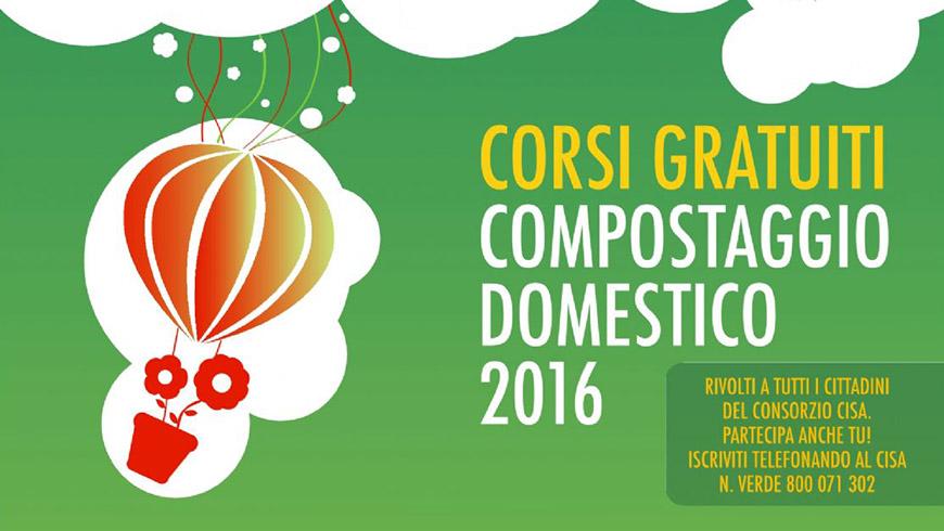 Corsi gratuiti compostaggio domestico 2016