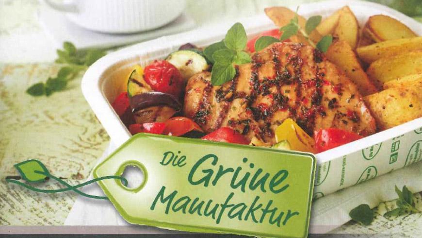 Vaschette compostabili BIOPAP® nel catering BIO in Germania e Austria